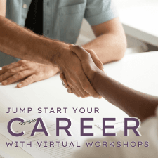 Jump start your career with virtual workshops