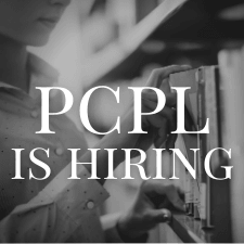 PCPL is hiring for two positions.